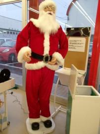 サンタさんのお出迎え♪