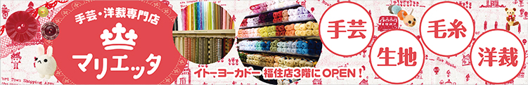 手芸店札幌福住店